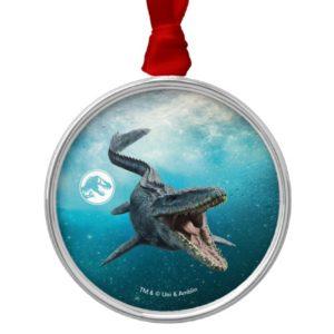 Jurassic World | Mosasaurus Metal Ornament