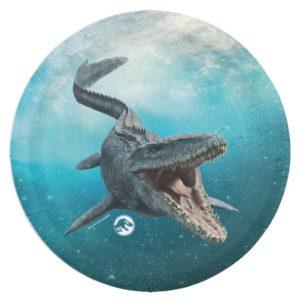 Jurassic World   Mosasaurus Paper Plate