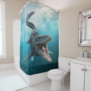 Jurassic World | Mosasaurus Shower Curtain