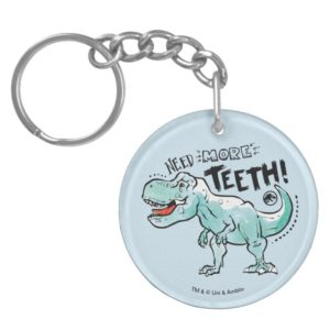 Jurassic World   Need More Teeth Keychain