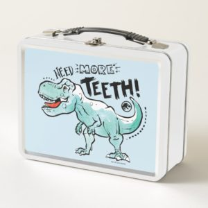 Jurassic World | Need More Teeth Metal Lunch Box