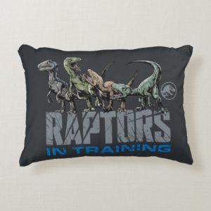 Jurassic World   Raptors in Training Accent Pillow