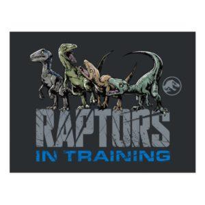 Jurassic World | Raptors in Training Postcard