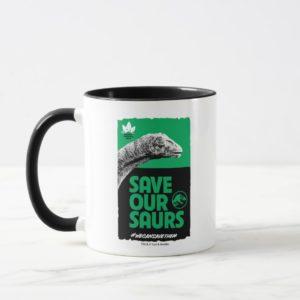 Jurassic World | Save Our Saurs Mug