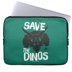Jurassic World | Save the Dinos Computer Sleeve