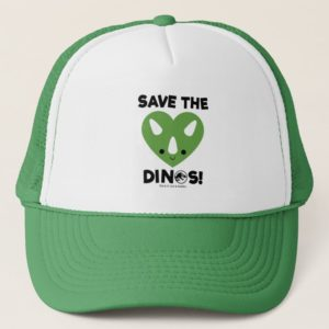 Jurassic World | Save the Dinos - Green Heart Trucker Hat