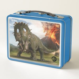Jurassic World | Sinoceratops Metal Lunch Box