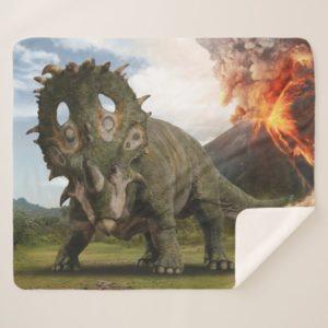Jurassic World | Sinoceratops Sherpa Blanket