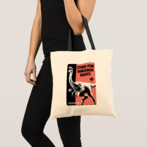 Jurassic World | Stand for Dinosaur Rights Tote Bag