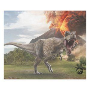 Jurassic World | T. Rex Fleece Blanket