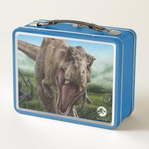 Jurassic World | T. Rex - Instinct to Hunt Metal Lunch Box