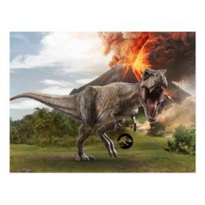 Jurassic World | T. Rex Postcard