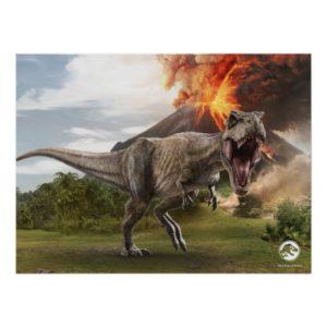 Jurassic World | T. Rex Poster