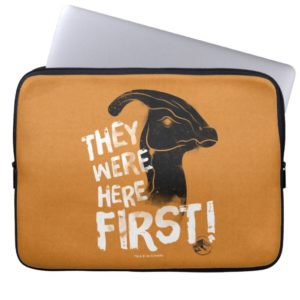 Jurassic World | They Were Here First Computer Sleeve