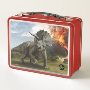 Jurassic World | Triceratops Metal Lunch Box