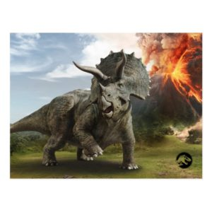 Jurassic World | Triceratops Postcard