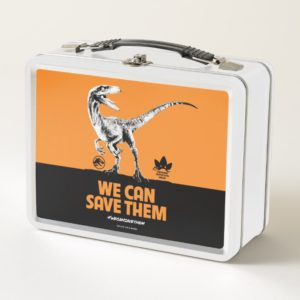 Jurassic World | We Can Save Them Metal Lunch Box