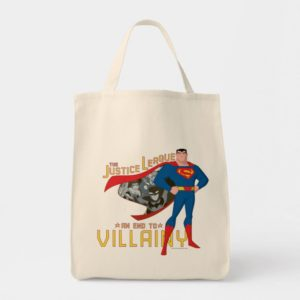 Justice League Action | An End To Villainy Tote Bag
