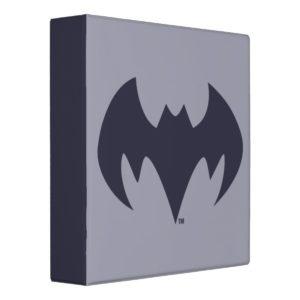 Justice League Action | Batman Bat Logo 3 Ring Binder