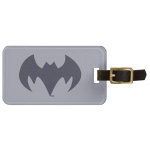 Justice League Action | Batman Bat Logo Bag Tag