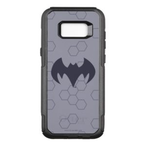 Justice League Action | Batman Bat Logo OtterBox Commuter Samsung Galaxy S8+ Case