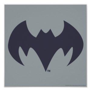 Justice League Action | Batman Bat Logo Poster