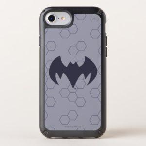 Justice League Action   Batman Bat Logo Speck iPhone Case