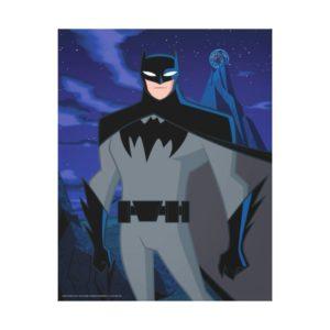 Justice League Action | Batman Character Art Canvas Print