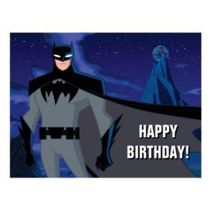 Justice League Action | Batman Character Art Postcard