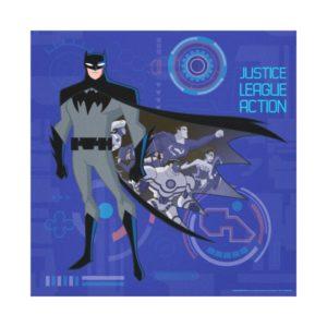 Justice League Action | Batman High Tech Graphic Canvas Print