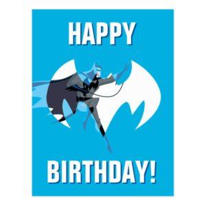 Justice League Action | Batman Over Bat Emblem Postcard