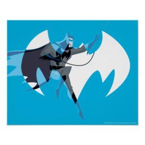 Justice League Action | Batman Over Bat Emblem Poster