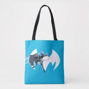 Justice League Action | Batman Over Bat Emblem Tote Bag