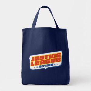Justice League Action | Color Logo Tote Bag