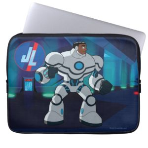 Justice League Action | Cyborg Character Art Computer Sleeve