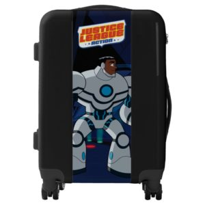 Justice League Action | Cyborg Character Art Luggage