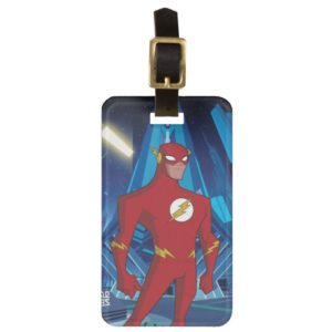 Justice League Action | Flash Character Art Bag Tag