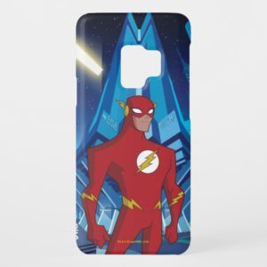 Justice League Action | Flash Character Art Case-Mate Samsung Galaxy S9 Case