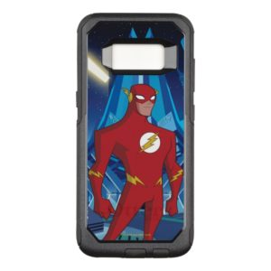 Justice League Action | Flash Character Art OtterBox Commuter Samsung Galaxy S8 Case