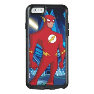 Justice League Action | Flash Character Art OtterBox iPhone Case