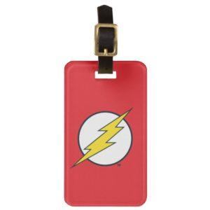 Justice League Action | Flash Lightning Bolt Logo Bag Tag