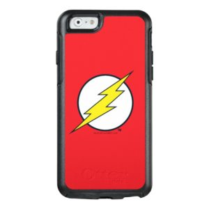 Justice League Action | Flash Lightning Bolt Logo OtterBox iPhone Case