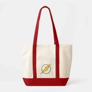 Justice League Action | Flash Lightning Bolt Logo Tote Bag