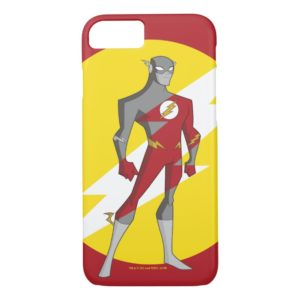 Justice League Action   Flash Over Lightning Bolt Case-Mate iPhone Case