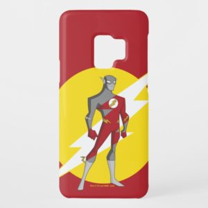 Justice League Action | Flash Over Lightning Bolt Case-Mate Samsung Galaxy S9 Case