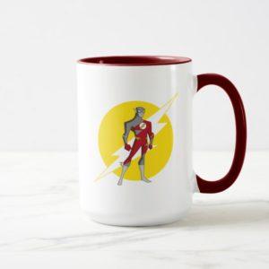 Justice League Action | Flash Over Lightning Bolt Mug