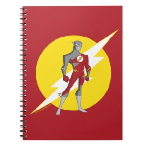 Justice League Action | Flash Over Lightning Bolt Notebook