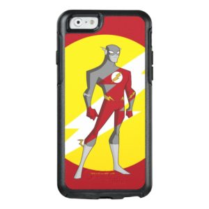 Justice League Action   Flash Over Lightning Bolt OtterBox iPhone Case