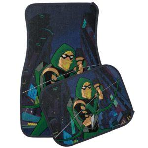 Justice League Action | Green Arrow Character Art Car Floor Mat