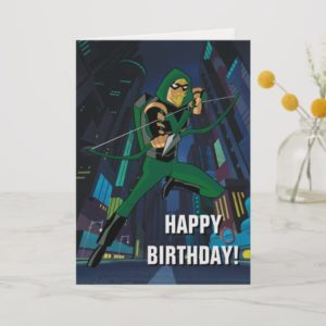 Justice League Action | Green Arrow Character Art Card